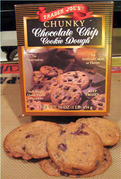 Trader Joe's Chunky Chocolate Chip Cookie Dough